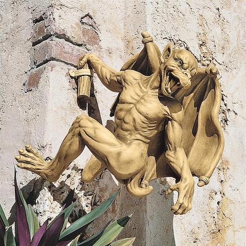 Medium Gaston Gargoyle Climber Statue
