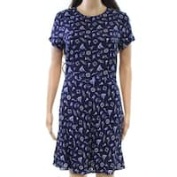 Polo Ralph Lauren Blue Womens Size 2 Fit N Flare Sheath Dress