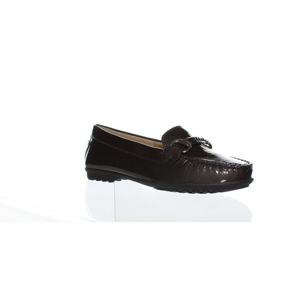 0681a6e445264 Geox Womens Elidia Brown Loafers Size 6