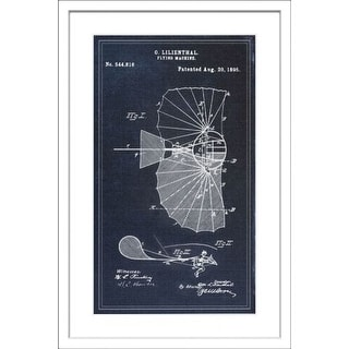 Marmont Hill Patent - White Framed Art Print Smithsonian White Framed Giclee Art Print on High Resolution Archive Paper