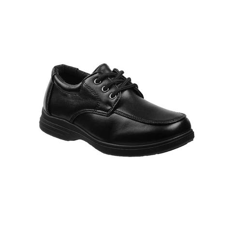 Josmo Boys Black Lace-Up Dress Shoes