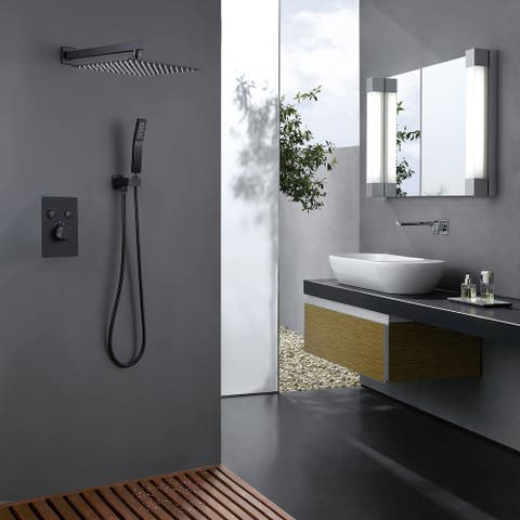Thermostatic Shower System with Rough-in Valve