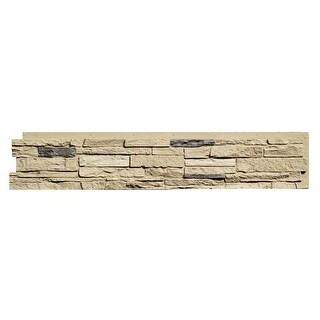 NextStone™ Polyurethane Faux Stone Slatestone Panel - Sahara