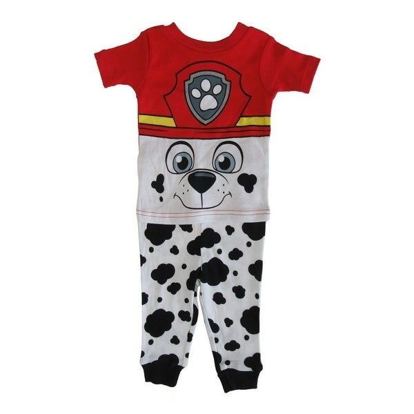 dfa00d764a Shop Nickelodeon Baby Boys White Red Paw Patrol Cotton Short Sleeve 2Pc  Pajama - Free Shipping On Orders Over  45 - Overstock - 23085032