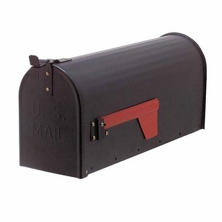 MAIL Black Rural Mailbox Solid Brass Renovator's Supply