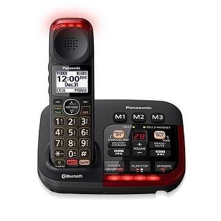 Refurbished Panasonic KX-TGM430B 1 Handset Amplified Cordless Phone