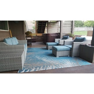 Corvus Martinka 9-piece Grey Wicker Patio Furniture Set