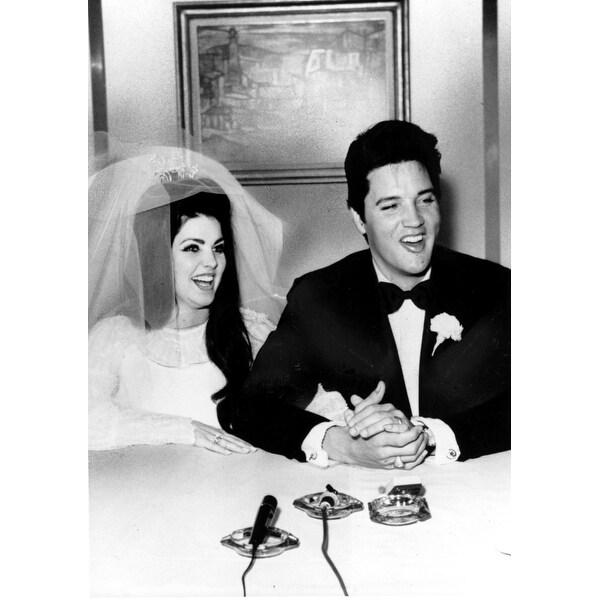 priscilla presley wedding pics