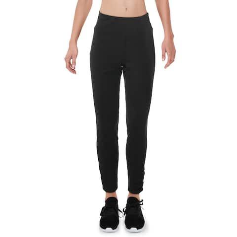 Gaiam Womens Athletic Leggings Yoga Fitness - Black