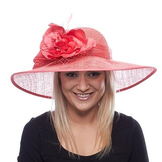 Lexington Lady Sinamay Derby Hat