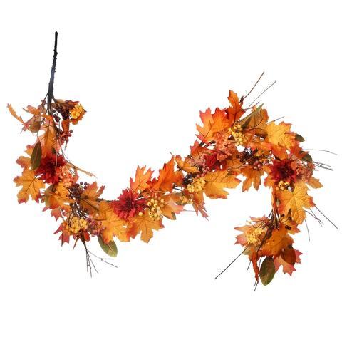 """60"""" Harvest Maple Leaf Garland - 60"""