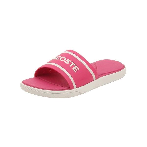 6bf645c3a42144 Shop Lacoste Women s L.30 Slide 118 2 Sandal - Free Shipping On ...