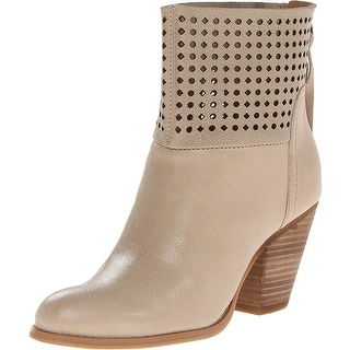 Nine West Women's Hippychic Leather Ankle Boots