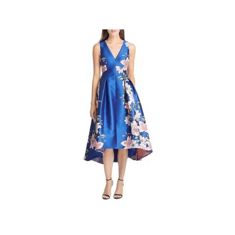 Eliza J Womens Evening Dress Hi-Low Jacquard - 4