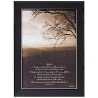 Life Is... Framed Print