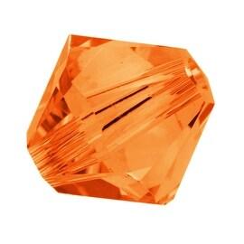 Swarovski Crystal, 5328 Bicone Beads 4mm, 24 Pieces, Sun