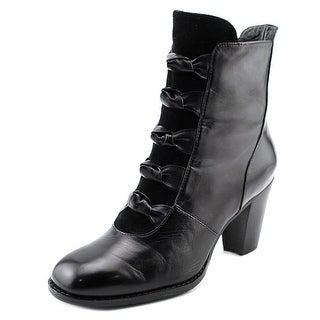 Everybody By BZ Moda Paddone Women Round Toe Leather Ankle Boot