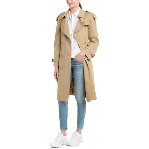 Burberry Westminster Medium-Length Heritage Trench Coat