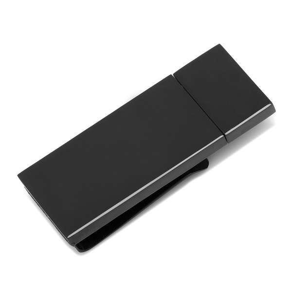 Black 8GB USB Flash Drive Money Clip
