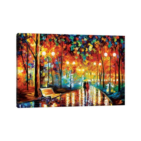 "iCanvas ""Rain's Rustle II"" by Leonid Afremov Canvas Print"