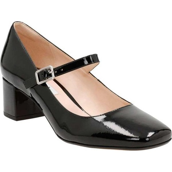 09ac519b9e6295 Shop Clarks Women s Chinaberry Pop Mary Jane Black Patent Leather ...