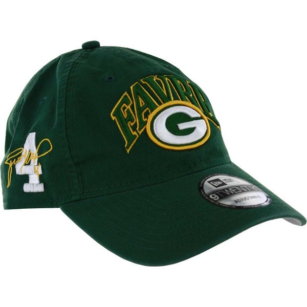 2b9da43a11a Shop Green Bay Packers Brett Favre Classic Frame 9TWENTY Adjustable Cap -  Free Shipping On Orders Over  45 - Overstock - 23526685