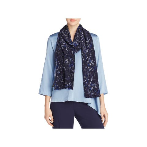 Eileen Fisher Womens Scarf - Royal - O/S