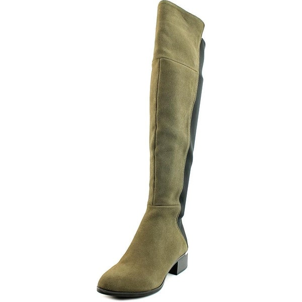 Bar III Rene Women Grey Boots