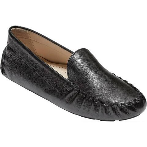 Cole Haan Women's Evelyn Driver Black Leather