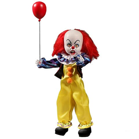 Mezco Toyz Living Dead Dolls IT 1990 Pennywise Collectible Doll - Multi