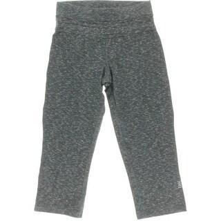 Tasc Performance Womens Leggings Space Dye Capri Pants - XS