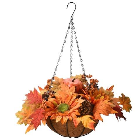 """18"""" Harvest Hanging Basket"""
