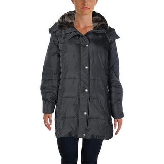 London Fog Womens Down Outerwear Puffer Coat