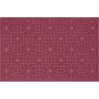 707600023 Water Guard Stained Glass Mat in Bordeaux - 2 ft. x 3 ft.