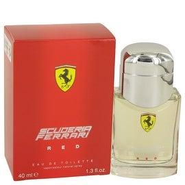 Ferrari Scuderia Red by Ferrari Eau De Toilette Spray 1.3 oz - Men