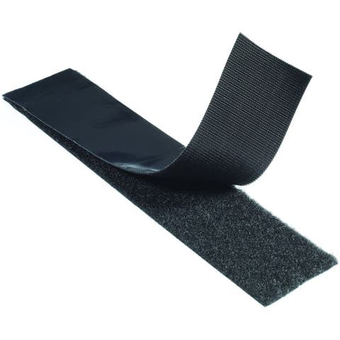 "Velcro 90197 Sticky Back Industrial Strength Hook And Loop Tape, 15' x 2"", Black"