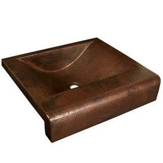 """Native Trails CPS41 Palisades 20"""" Copper Drop In Bathroom Sink"""