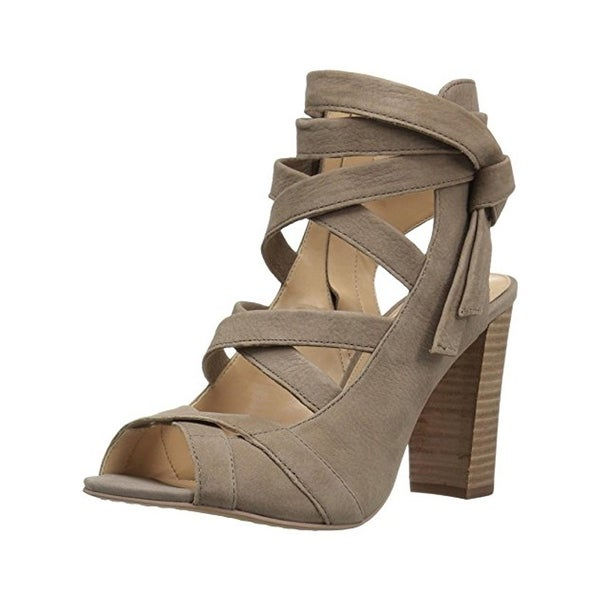 Vince Camuto Womens Sammson Heels Open Toe Strappy