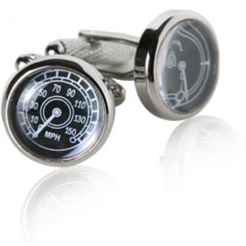 Speedometer Driving Racing Automobile Car Vehicle Cufflinks