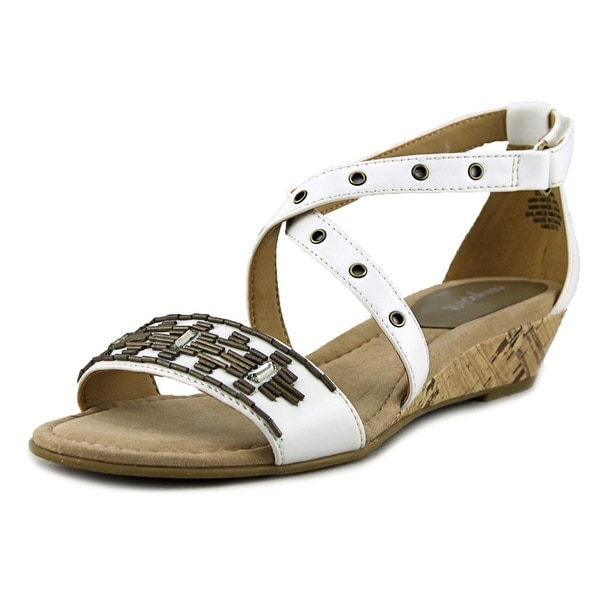 Easy Spirit Malvina Women White/White Sandals