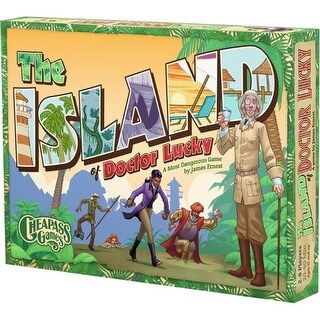 Cheapass Games CAG250 Island of Doctor Lucky Board Game
