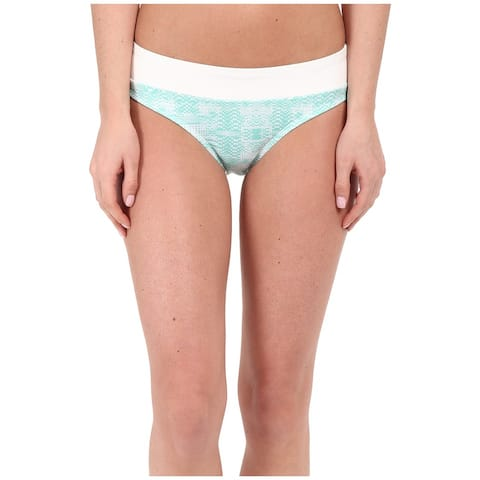 Soybu Blue Mirage Womens Size Small S Amalfi Bikini Bottom Swimwear