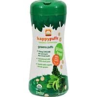 Happy Family - Organic Puffs - Greens ( 6 - 2.1 OZ)