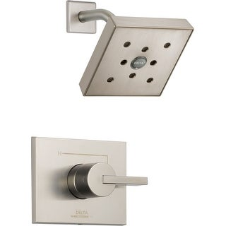 Delta T14253-H2O  Vero Monitor 14 Series Single Function Pressure Balanced Shower Trim Package with H2Okinetic Shower Head