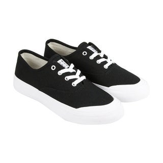 HUF Cromer Mens Black Canvas Lace Up Sneakers Shoes