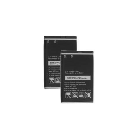 Replacement 920mAh Battery For Pantech TXT8035B / TXTM8 Phone Models (2 Pack)