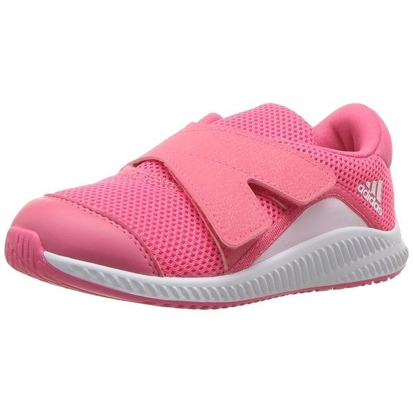 super popular f5403 355ae adidas Boysx27 Fortarun X CF I, Pink, Size 5.5K