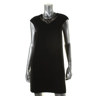 Zara Basic Womens Shift Knee Length Cocktail Dress - L