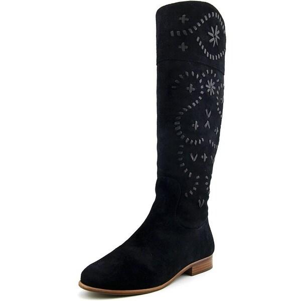 Jack Rogers Tara Women Round Toe Suede Knee High Boot
