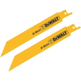 "DeWalt 2Pk 6"" 14T Recip Blade"